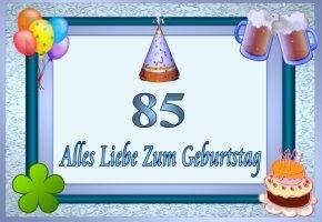 85 geburtstag for Geschenke zum 85 geburtstag
