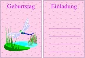 einladungskarten kindergeburtstag eiskönigin ausdrucken, Einladung