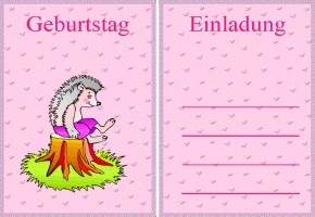 Postkarten Geburtstagskarten